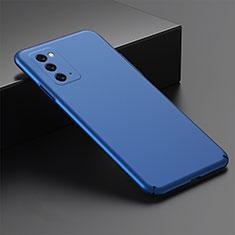 Handyhülle Hülle Hartschalen Kunststoff Schutzhülle Tasche Matt M02 für Samsung Galaxy Note 20 5G Blau