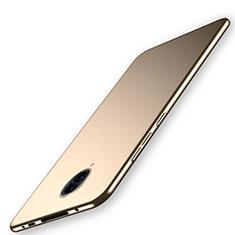 Handyhülle Hülle Hartschalen Kunststoff Schutzhülle Tasche Matt M02 für Vivo Nex 3 Gold