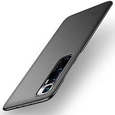 Handyhülle Hülle Hartschalen Kunststoff Schutzhülle Tasche Matt M02 für Xiaomi Mi 10 Ultra Schwarz