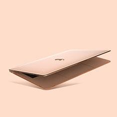 Handyhülle Hülle Hartschalen Kunststoff Schutzhülle Tasche Matt M03 für Apple MacBook Air 13 zoll (2020) Gold