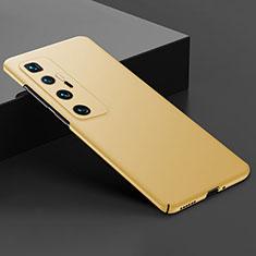 Handyhülle Hülle Hartschalen Kunststoff Schutzhülle Tasche Matt M03 für Xiaomi Mi 10 Ultra Gold