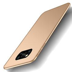 Handyhülle Hülle Hartschalen Kunststoff Schutzhülle Tasche Matt M03 für Xiaomi Poco X3 NFC Gold