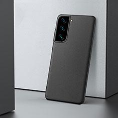 Handyhülle Hülle Hartschalen Kunststoff Schutzhülle Tasche Matt M04 für Samsung Galaxy S21 Plus 5G Schwarz