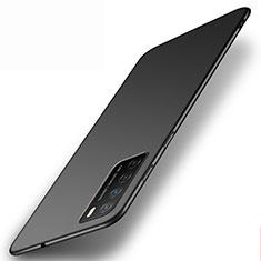 Handyhülle Hülle Hartschalen Kunststoff Schutzhülle Tasche Matt P01 für Huawei Honor Play4 5G Schwarz