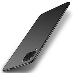 Handyhülle Hülle Hartschalen Kunststoff Schutzhülle Tasche Matt P01 für Huawei P40 Lite Schwarz