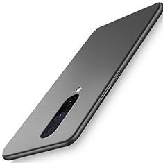 Handyhülle Hülle Hartschalen Kunststoff Schutzhülle Tasche Matt P01 für OnePlus 8 Schwarz