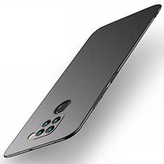 Handyhülle Hülle Hartschalen Kunststoff Schutzhülle Tasche Matt P01 für Xiaomi Redmi 10X 4G Schwarz