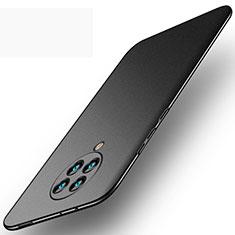 Handyhülle Hülle Hartschalen Kunststoff Schutzhülle Tasche Matt P01 für Xiaomi Redmi K30 Pro Zoom Schwarz