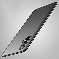 Handyhülle Hülle Hartschalen Kunststoff Schutzhülle Tasche Matt P02 für Huawei Nova 5 Pro Schwarz