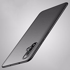 Handyhülle Hülle Hartschalen Kunststoff Schutzhülle Tasche Matt P02 für Huawei Nova 5 Schwarz