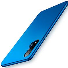 Handyhülle Hülle Hartschalen Kunststoff Schutzhülle Tasche Matt P02 für Huawei Nova 6 5G Blau