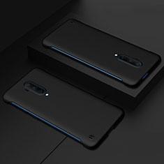 Handyhülle Hülle Hartschalen Kunststoff Schutzhülle Tasche Matt P03 für OnePlus 7T Pro Schwarz