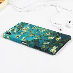 Handyhülle Hülle Kunststoff Schutzhülle Blumen für Sony Xperia Z5 Premium Grün
