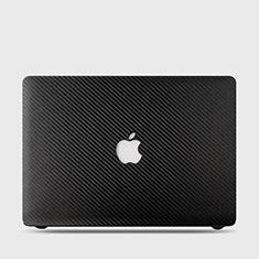 Handyhülle Hülle Kunststoff Schutzhülle Hartschalen Tasche Matt Köper für Apple MacBook Air 13 zoll (2020) Schwarz