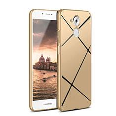 Handyhülle Hülle Kunststoff Schutzhülle Line für Huawei Enjoy 6S Gold