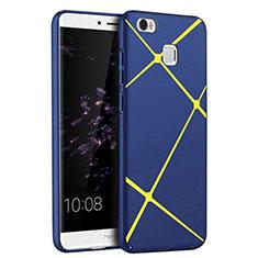 Handyhülle Hülle Kunststoff Schutzhülle Line für Huawei Honor V8 Max Blau