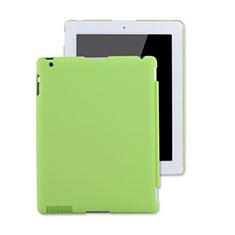Handyhülle Hülle Kunststoff Schutzhülle Matt für Apple iPad 2 Grün