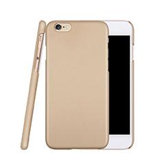 Handyhülle Hülle Kunststoff Schutzhülle Matt für Apple iPhone 6S Gold