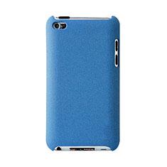 Handyhülle Hülle Kunststoff Schutzhülle Matt für Apple iPod Touch 4 Hellblau