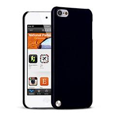 Handyhülle Hülle Kunststoff Schutzhülle Matt für Apple iPod Touch 5 Schwarz