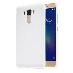 Handyhülle Hülle Kunststoff Schutzhülle Matt für Asus Zenfone 3 Laser Weiß