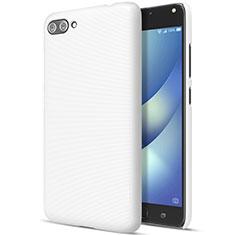 Handyhülle Hülle Kunststoff Schutzhülle Matt für Asus Zenfone 4 Max ZC554KL Weiß