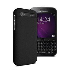 Handyhülle Hülle Kunststoff Schutzhülle Matt für Blackberry Classic Q20 Schwarz