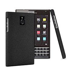 Handyhülle Hülle Kunststoff Schutzhülle Matt für Blackberry Passport Q30 Schwarz
