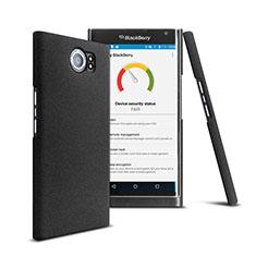 Handyhülle Hülle Kunststoff Schutzhülle Matt für Blackberry Priv Schwarz