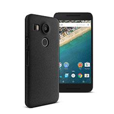 Handyhülle Hülle Kunststoff Schutzhülle Matt für Google Nexus 5X Schwarz