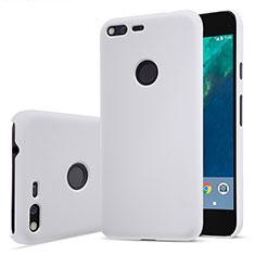 Handyhülle Hülle Kunststoff Schutzhülle Matt für Google Pixel Weiß