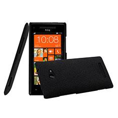 Handyhülle Hülle Kunststoff Schutzhülle Matt für HTC 8X Windows Phone Schwarz
