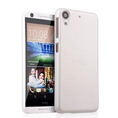 Handyhülle Hülle Kunststoff Schutzhülle Matt für HTC Desire 626 Weiß
