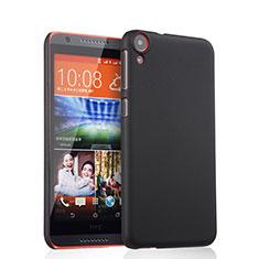 Handyhülle Hülle Kunststoff Schutzhülle Matt für HTC Desire 820 Schwarz