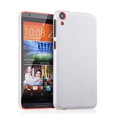 Handyhülle Hülle Kunststoff Schutzhülle Matt für HTC Desire 820 Weiß