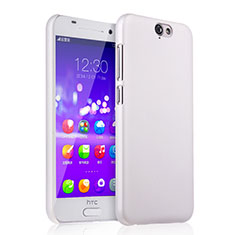 Handyhülle Hülle Kunststoff Schutzhülle Matt für HTC One A9 Weiß