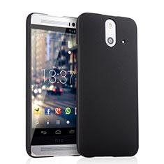 Handyhülle Hülle Kunststoff Schutzhülle Matt für HTC One E8 Schwarz