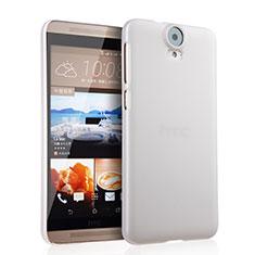Handyhülle Hülle Kunststoff Schutzhülle Matt für HTC One E9 Plus Weiß