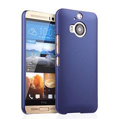 Handyhülle Hülle Kunststoff Schutzhülle Matt für HTC One M9 Plus Blau