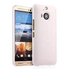 Handyhülle Hülle Kunststoff Schutzhülle Matt für HTC One M9 Plus Weiß