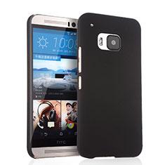 Handyhülle Hülle Kunststoff Schutzhülle Matt für HTC One M9 Schwarz