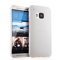 Handyhülle Hülle Kunststoff Schutzhülle Matt für HTC One M9 Weiß