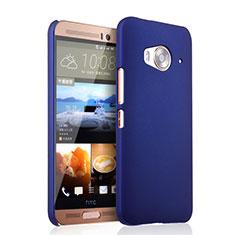 Handyhülle Hülle Kunststoff Schutzhülle Matt für HTC One Me Schwarz