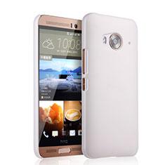 Handyhülle Hülle Kunststoff Schutzhülle Matt für HTC One Me Weiß