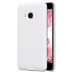 Handyhülle Hülle Kunststoff Schutzhülle Matt für HTC U Play Weiß