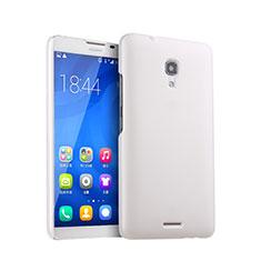 Handyhülle Hülle Kunststoff Schutzhülle Matt für Huawei Ascend Mate 2 Weiß