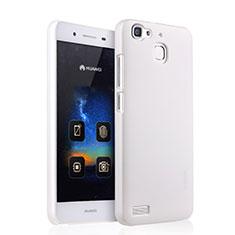 Handyhülle Hülle Kunststoff Schutzhülle Matt für Huawei Enjoy 5S Weiß