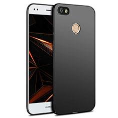 Handyhülle Hülle Kunststoff Schutzhülle Matt für Huawei Enjoy 7 Schwarz