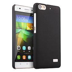Handyhülle Hülle Kunststoff Schutzhülle Matt für Huawei G Play Mini Schwarz