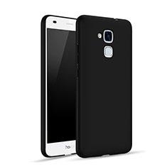 Handyhülle Hülle Kunststoff Schutzhülle Matt für Huawei GT3 Schwarz